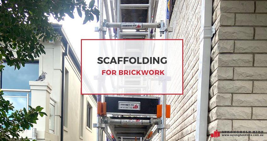 Scaffolding for Brickwork - Hire Scaffolding Sydney